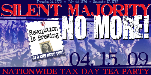 Tax Day Tea Party Logo