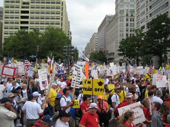 Facing toward the Capitol at 1037