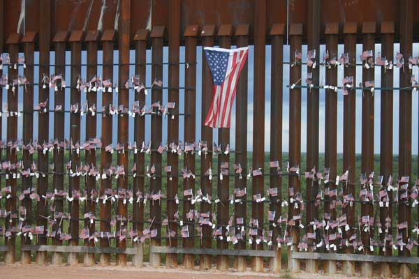 Fence & Flags